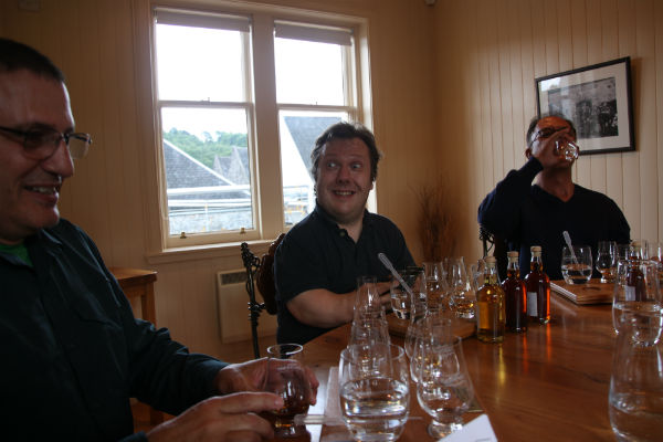 Anders enjoying the Balvenie tasting