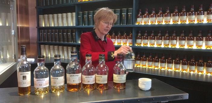 Ann Miller introduces us to Aberlour whiskies