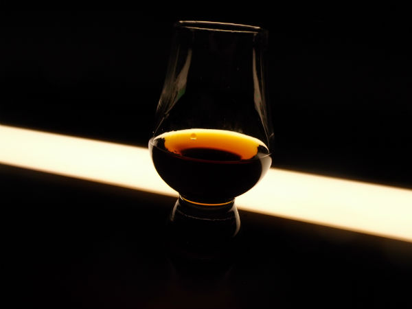 A lovely dram in a glass of Auchentoshan whisky