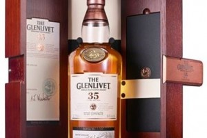 Bottle of glenlivet