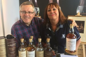 David - Distillery manager at Balvenie with Liz