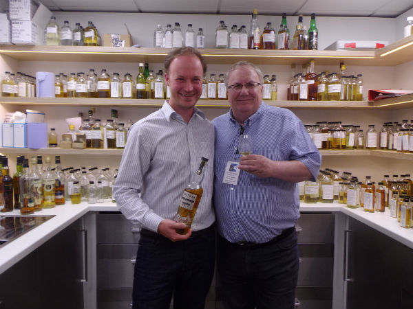 Don and paul a good blend of whisky pals