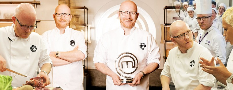 Gary Maclean super chef of the order of the haggis