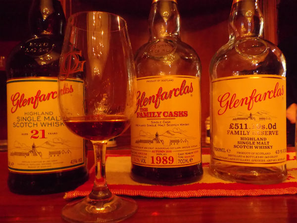 Some lovely Glenfarclas Distillery drams one Christmas