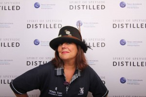Liz at Distilled Whisky Festival