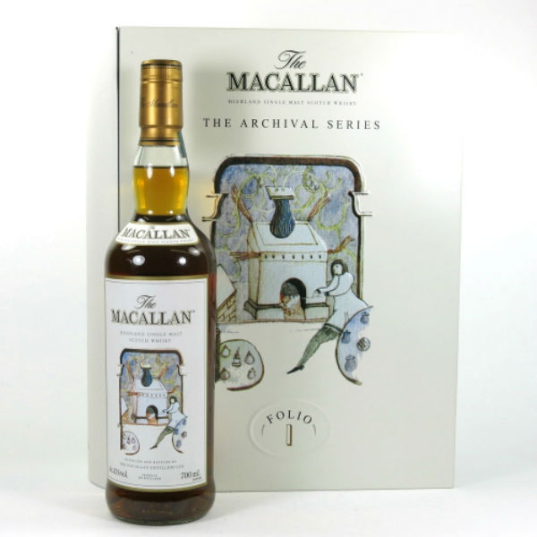The new Folio 1 whisky from Macallan Distillery, Speyside