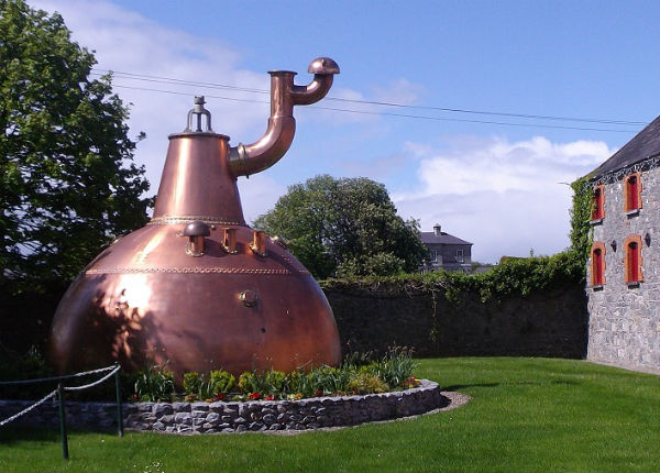 An Irish whiskey pot still, ,Midletion Distillery, Ireland