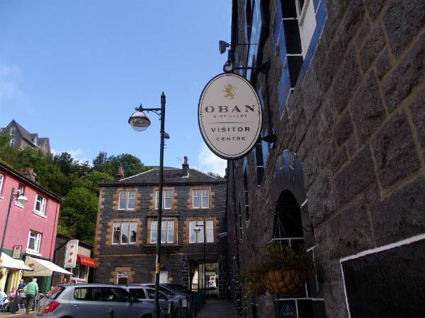 Oban Distillery, owned by Diageo, west coast of Scotland