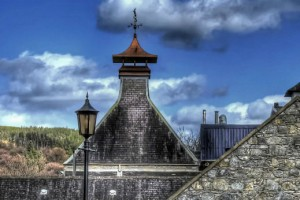 PAGODAS AT GLENFIDDICH DISTILLERY
