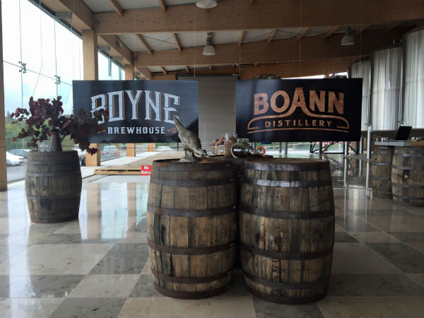 Whisky distillery interview with Sally-Anne Cooney, Boann Distillery