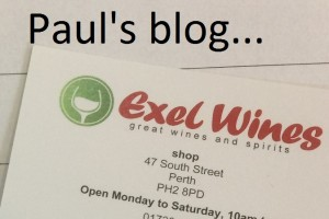 Pauls blog of the whisky tasting in Perth