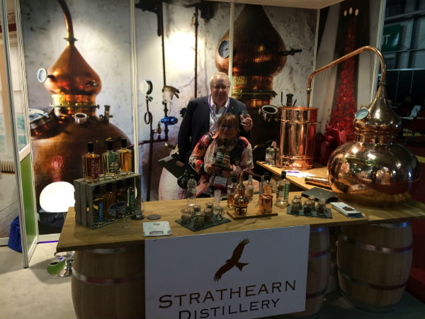 Strathearn Distillery - a destination on our guided tours of scotland