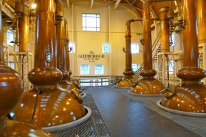 THE STILLS IN GLENMORANGIE DISTILLERY
