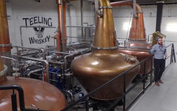 A tour of Irish Distilleries sampling Irish Whiskey