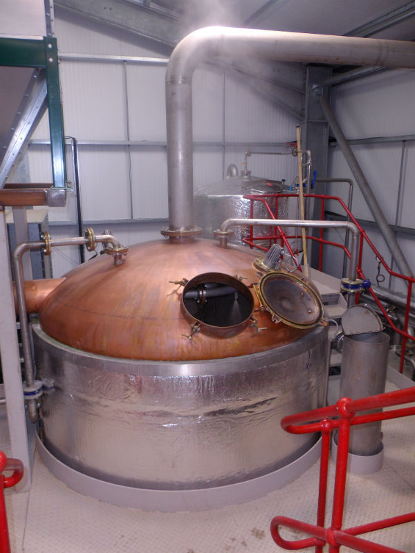 Wolfburn Distillery, the most northern distillery on the Scottish mainland