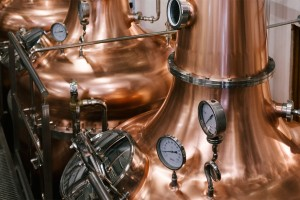 ballykeefe disitllery stills with irish whiskey