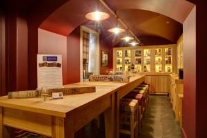 carnegie whisky cellar Dornoch tasting room