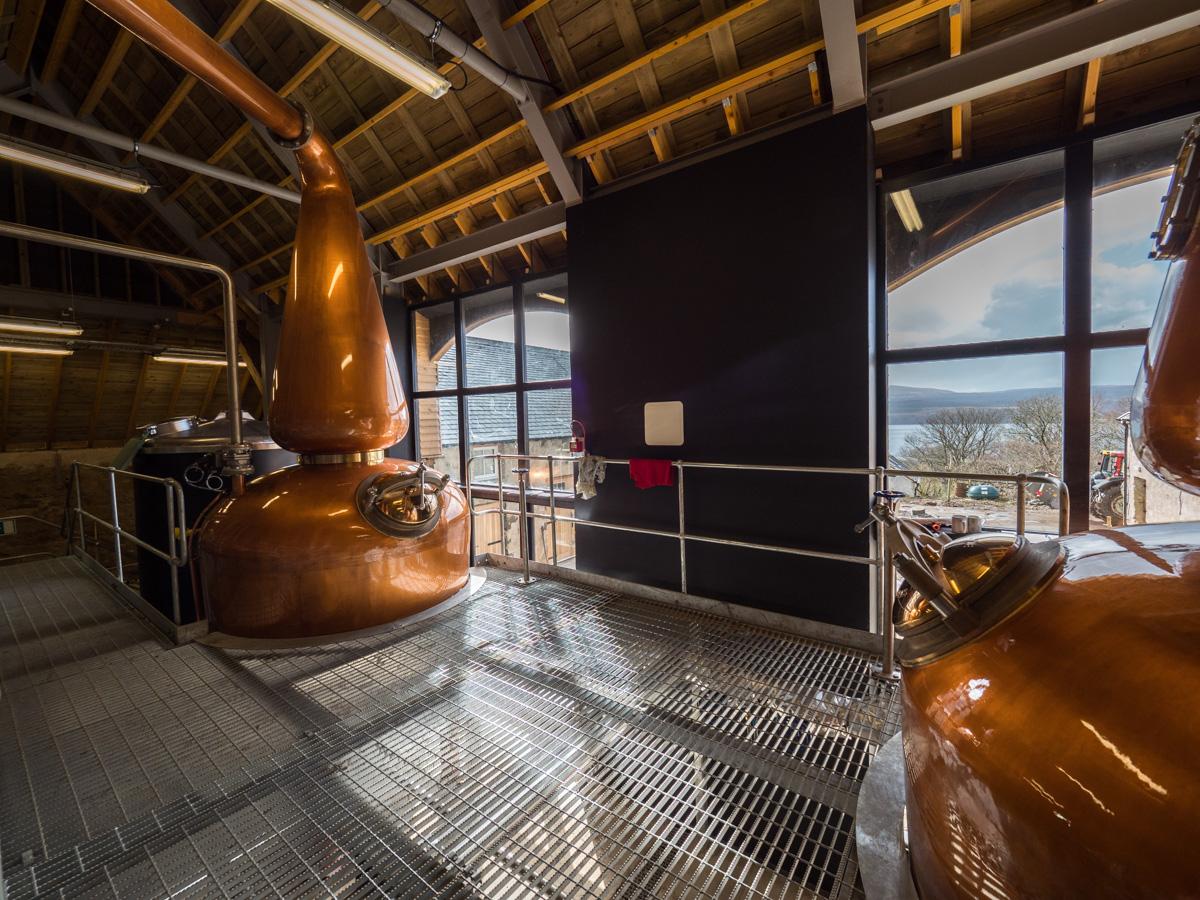 Ncn'ean distillery, Maclean lands & battles