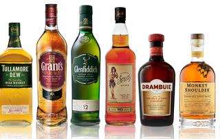 glenfiddich and grant range