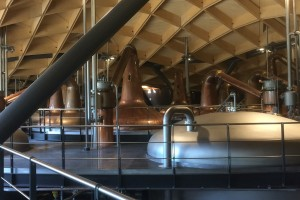 macallan stills in the new distillery at Craigellachie