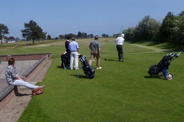 Monifieth Golf Course, Scotland