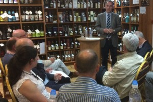 questions for Peter at our dram tasting