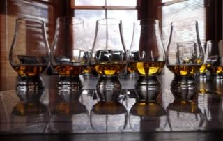 tasting session of Scottish