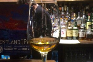 the final dram of the evening at usquabae whisky bar a balvenie Port 17yo
