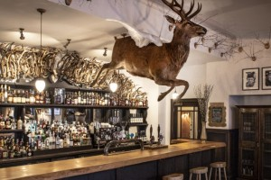 the stag bar at braemar luxury hotel