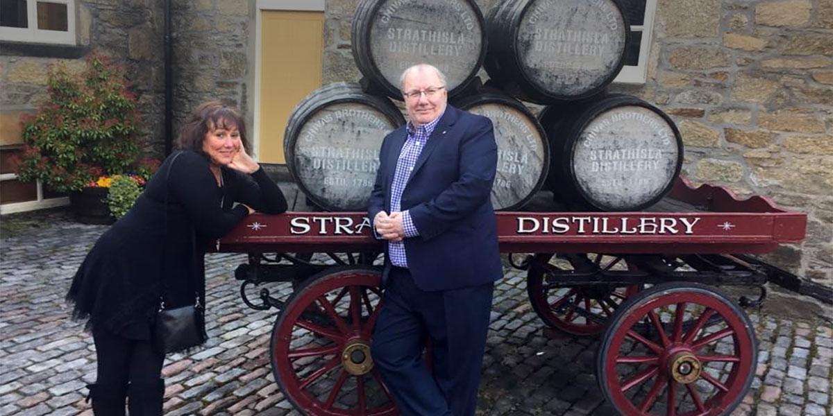 Strathisla distillery tour