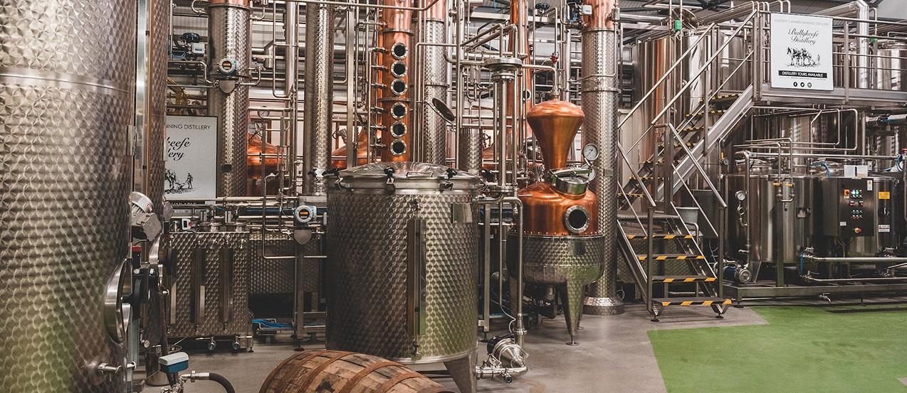 Ballykeefe distillery in the REpublic of Ireland Co Kilkenny