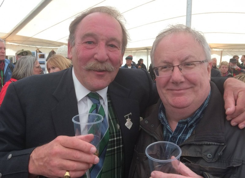 Charlie & Paul Macleans paul is the one without the tash