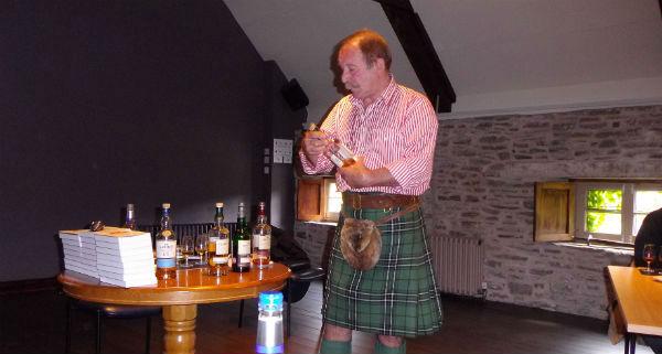 Charlie Mclean tasting at Glenlivet