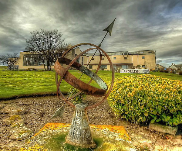 The outside of Clynelish Distillery, which sits next to Brora Distillery