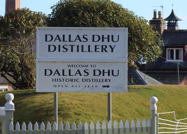 Dallas Dhu Distillery cum musuem in Speyside