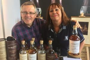 David - Distillery manager at Balvenie with Liz
