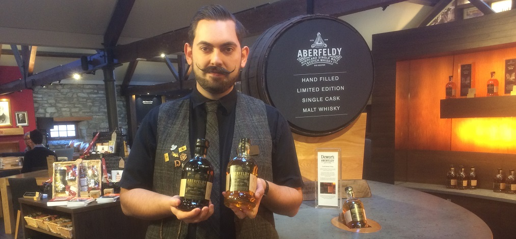 George our mate at Aberfeeldy distillery Perthshire (002)