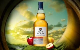 Glen Moray Bottle of whisky