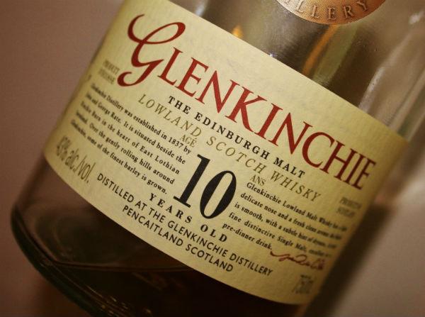 A lovely bottle from Glenkinchie Distillery