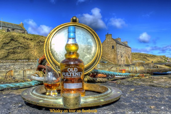 Old Pulteney whisky in a nice location shot by our friend Ian Horne
