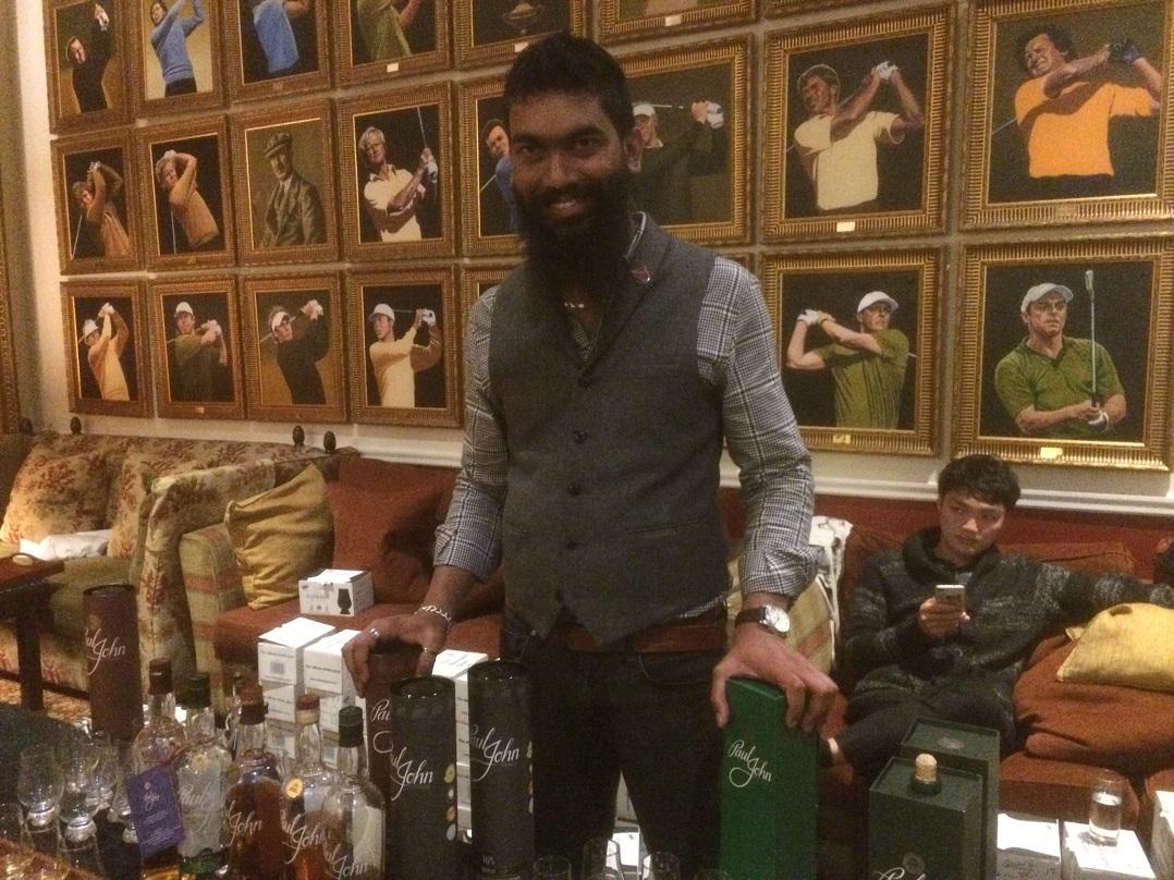 Paul John Distillery whisky tasting