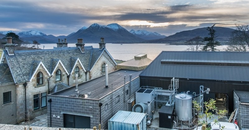 View of Skye from Raasay Distillery courtesy of visitscotland