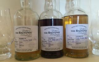 three wee Balvenie that give so much pleasure